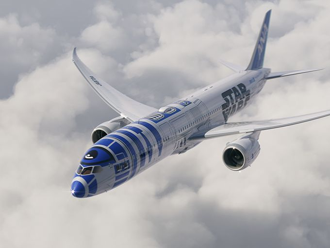 Jet R2D2 ANA Star Wars