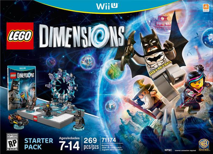Lego Dimensions la boîte du jeu