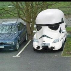 stormtrooper car