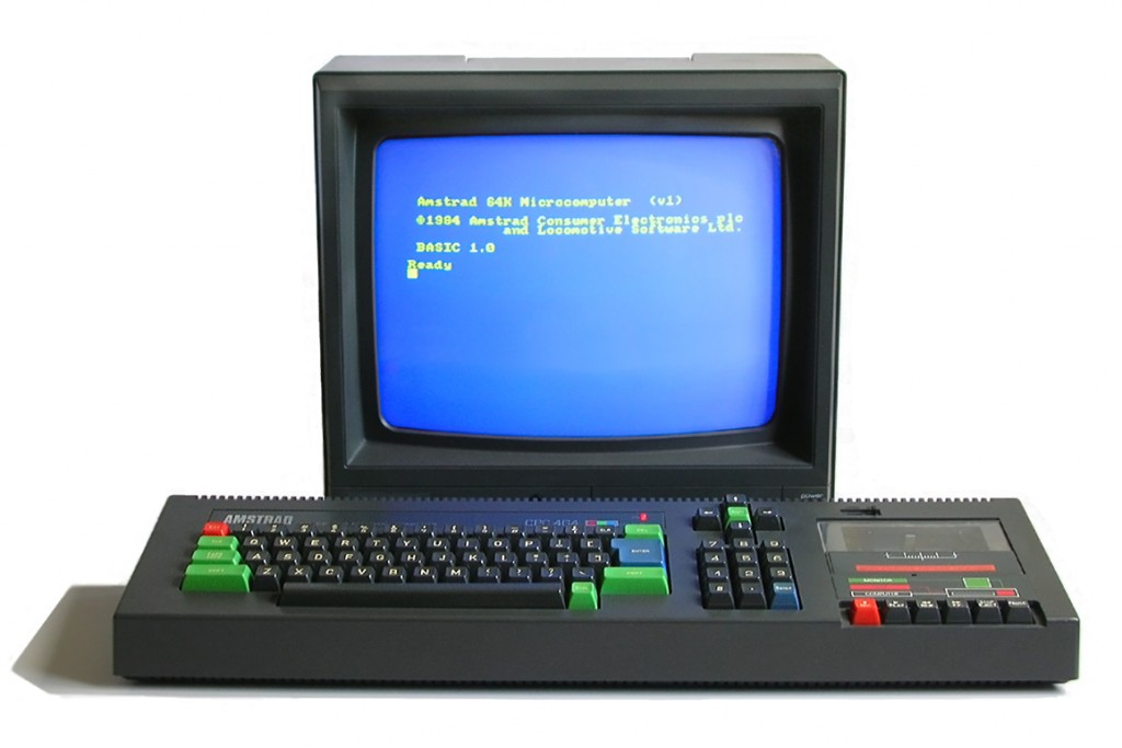 amstrad color personal computer cpc 464