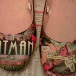 batman diy shoes