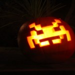 invader pumpkin