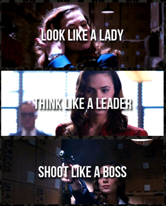 looks like a lady shoots like a boss