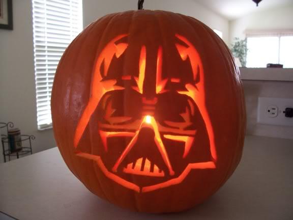 stencil darth vader pumpkin