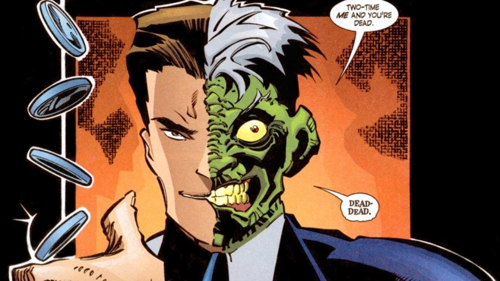 two face batman villain dead dead