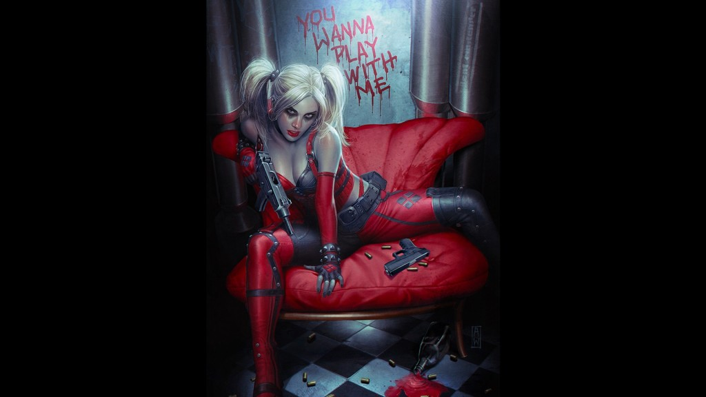 wanna play with me harley quinn