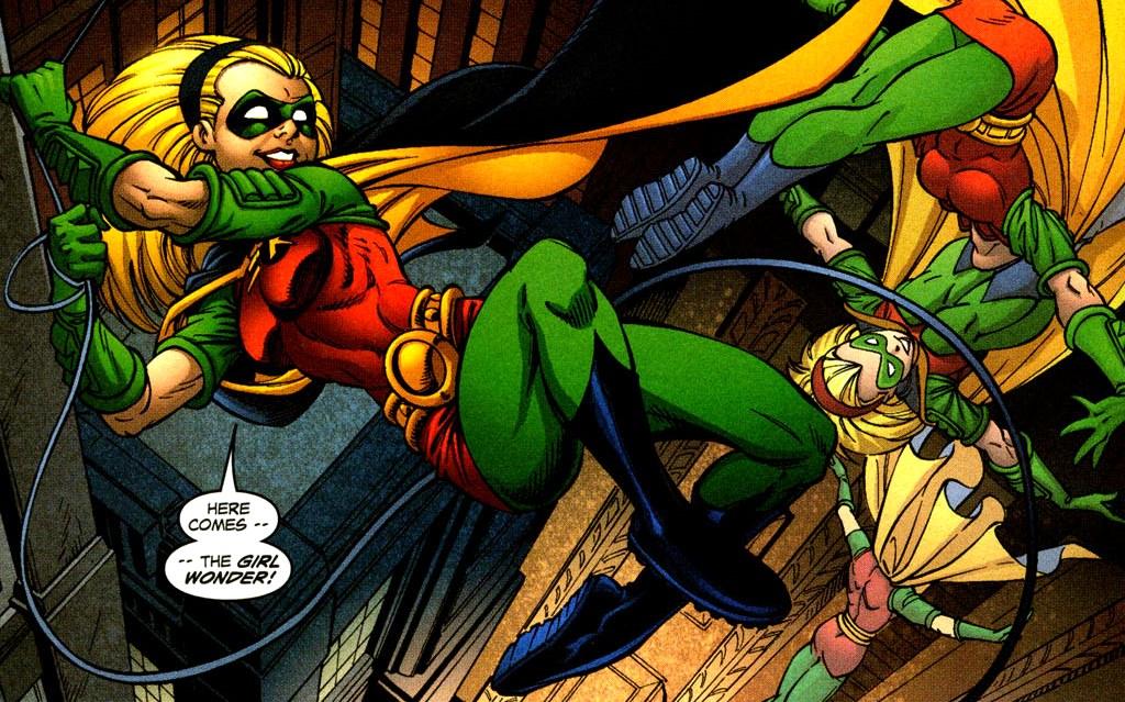 Les Trois Derniers Robin Histoire Comics