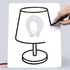 personnaliser sa lampe de bureau drawlamp