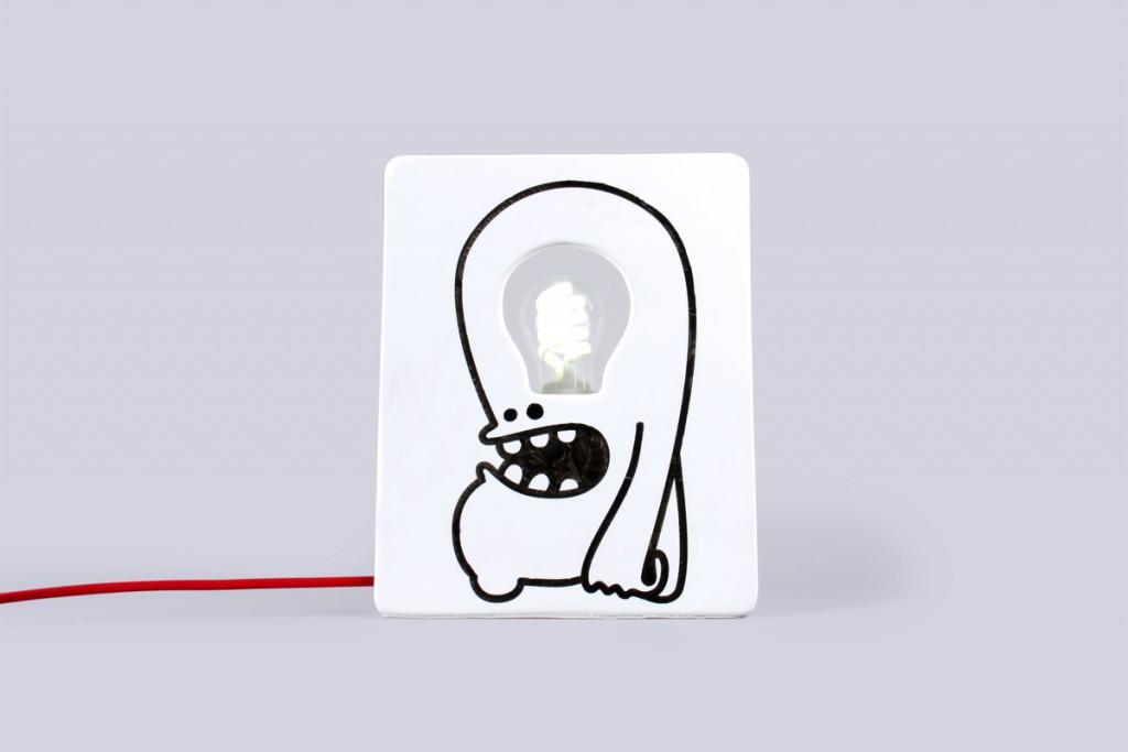 drawlamp monster