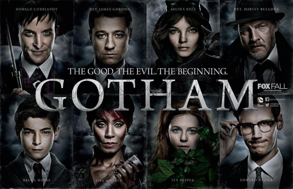 Gotham the good the evil the beginning